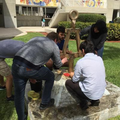 FIU Bent Monument